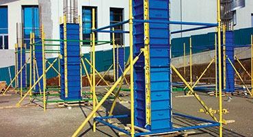 Modüler Çelik Kolon Sistemleri